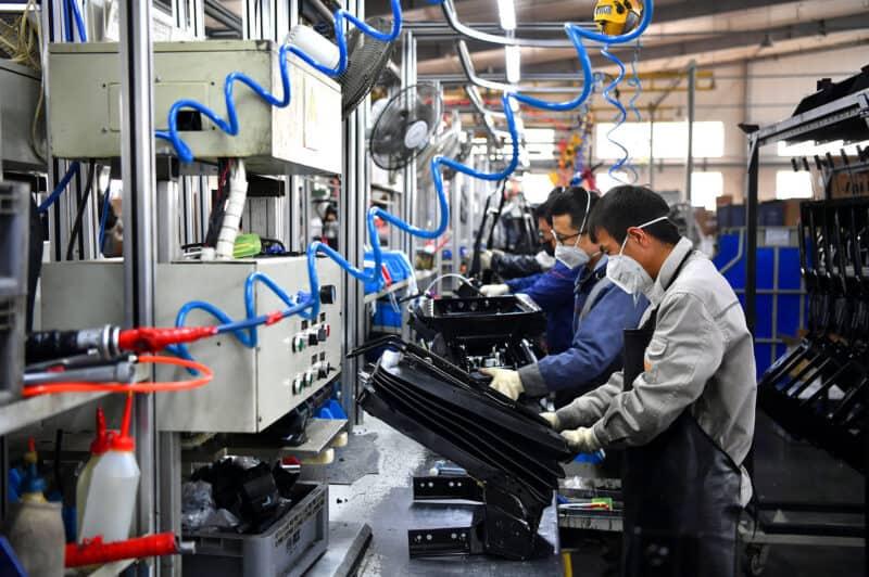 Производство своих товаров Китай