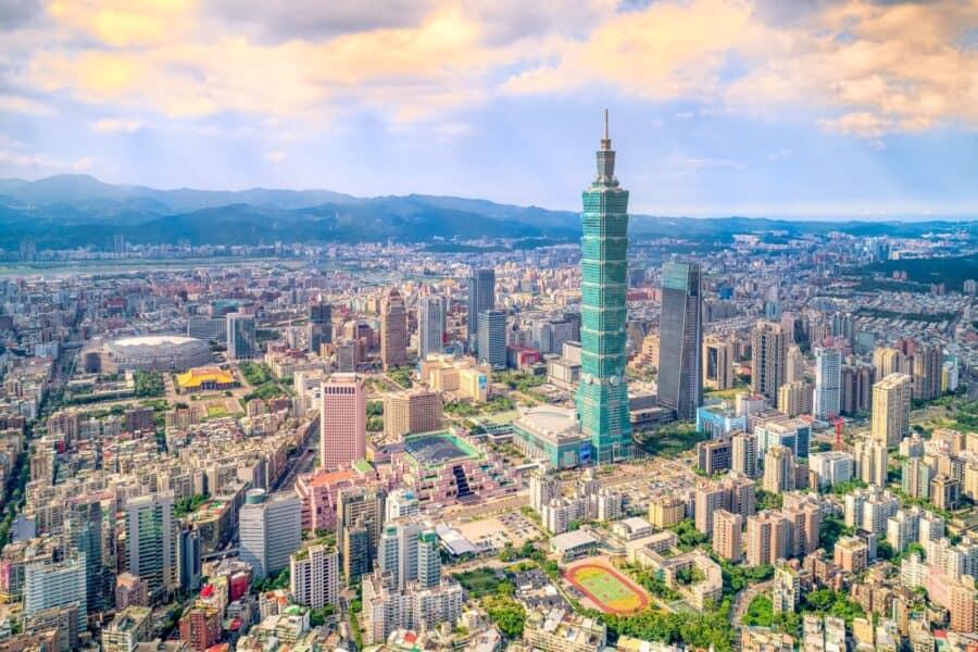 Доставка из Тайваня